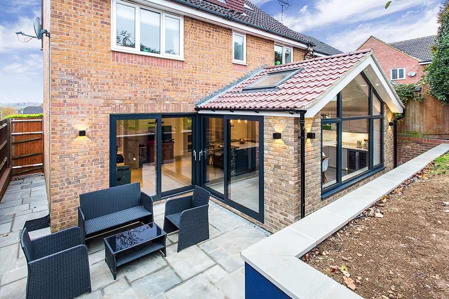Modern Glazed Ground Floor Extension Prince Design London